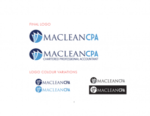 Maclean CPA Brand Design