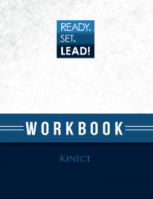 Kinect Workbook Cover Design