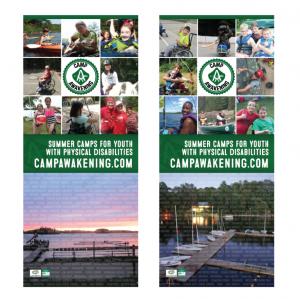 Camp Awakening Retractable Banners