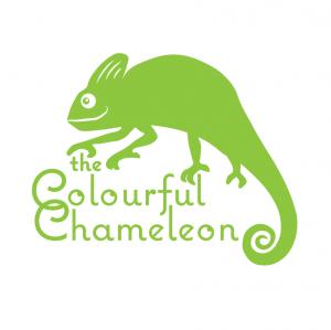 The Colourful Chameleon Logo